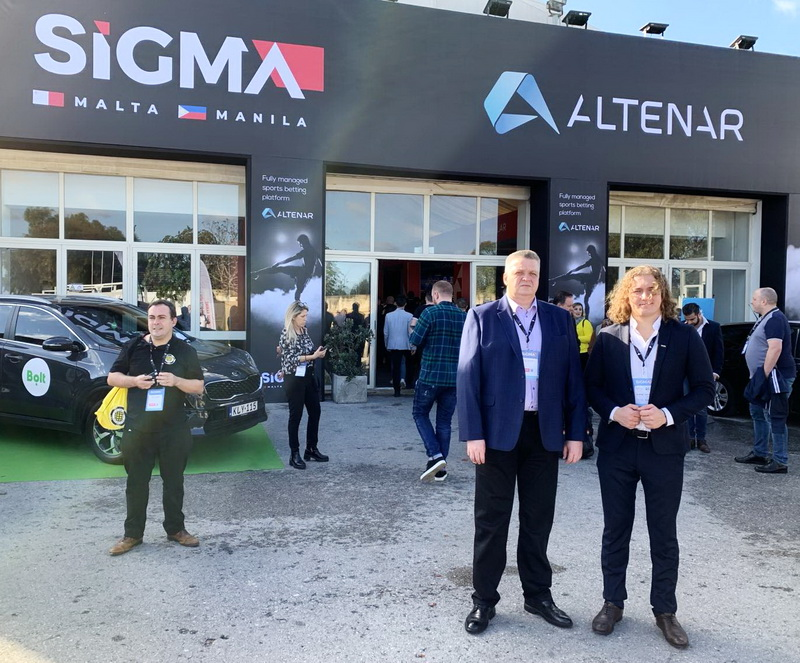 sigma igaming 2019 belatra first day