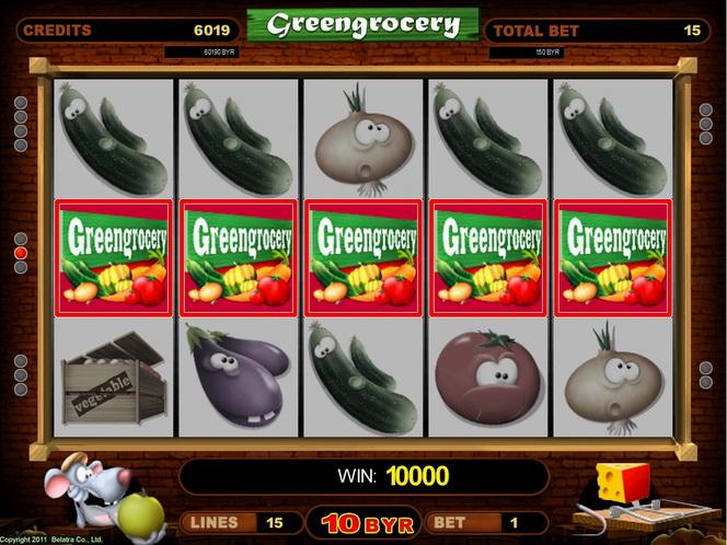 Игровые автоматы greengrocery играть бесплатно интернет казино от 1 цента