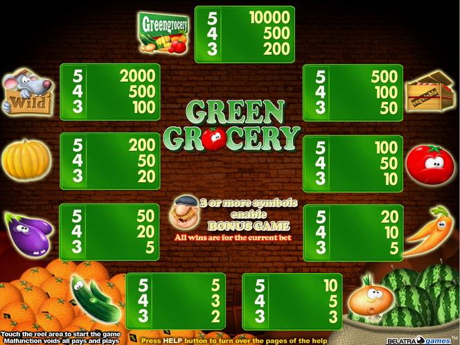 Игровые автоматы greengrocery играть игровые автоматы киева